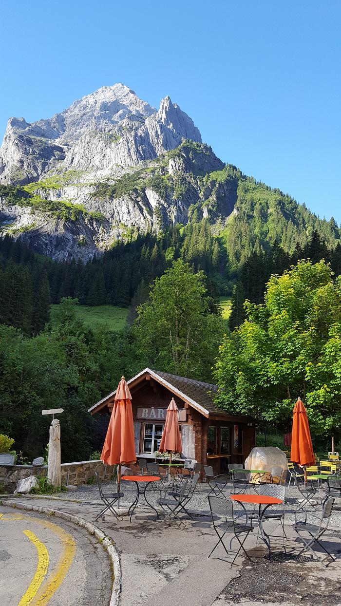 Hotel Rosenlaui Gartenwirtschaft