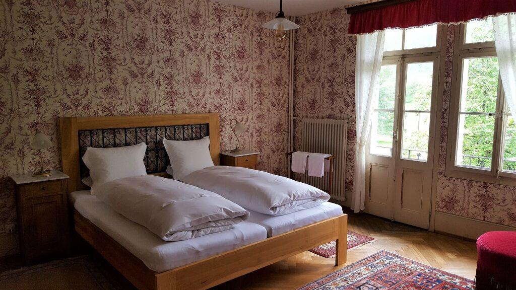 Rosenlaui Hotelzimmer