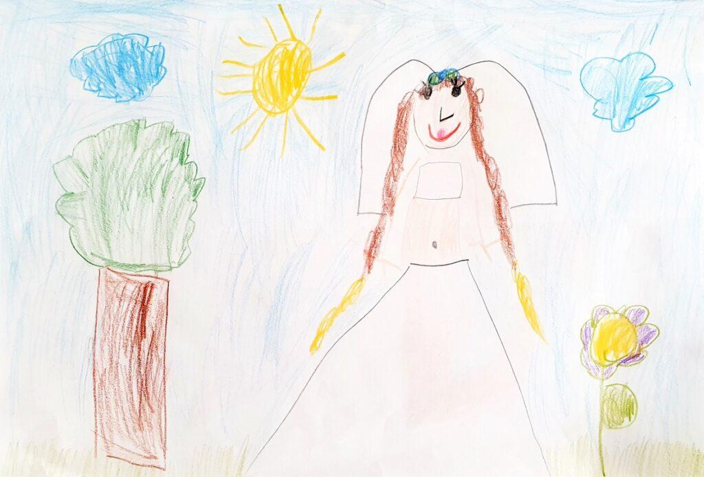 Kinderbeschäftigung zeichnen